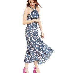 Cabi Blue #5269 Aurora Floral Casual Maxi Dress